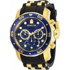 Invicta Men's Watch Pro Diver Chronograph Blue Dial Two Tone Strap 30763
