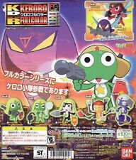 Bandai Sgt Frog Keroro Gunso Full Color SD Figure Collection Completed Set 7pcs