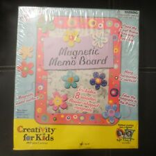 Creativity For Kids Magnetic Memo Board Kit