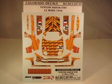 DECALS 1/43 VENTURI 600LM #30 LE MANS 1994 - COLORADO  43159