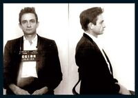 Johnny Cash Mug Shot Photo Poster
