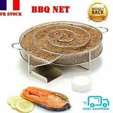 Grille de Barbecue Panier Viande Poisson Légume Poignée Longue BBQ Grillmaster