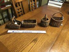 Minature Baskets (4) 1950's