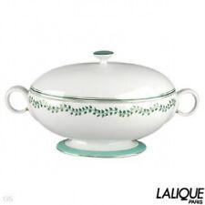 Authentic LALIQUE Soupiere Liane D'eau Collection