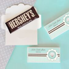 24 Personalized Ocean Beach Themed Candy Bar Wrappers Wedding Favors