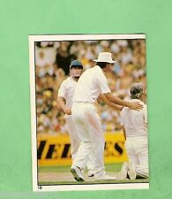 1983 SCANLENS CRICKET STICKER #18  IAN BOTHAM & MILLER, ENGLAND