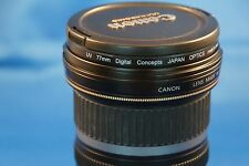 Canon EF-S 10-22mm f/3.5-4.5 USM Lens, Excellent condition + filter