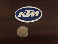 "Vintage KTM Emblem NOS Toolbox / Fridge Magnet Blue & White 1.5"" x 2.5"" NEW!"