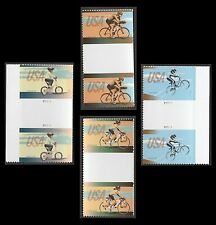 US 4690 Bicycling BMX Rider forever gutter pair set MNH 2012