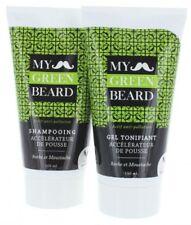 Bart Wachstumsbeschleuniger Shampoo + Gel - My Green Beard für mehr Bartwachstum
