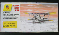 RS Models 7291 - Arado Ar-65 WWII - 1:72 - Flugzeug Modellbausatz - Resin Kit