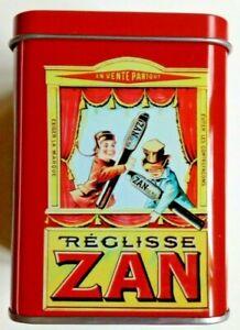 Boite en métal, Réglisse Zan by Haribo, neuve, vide ! 🔔