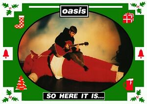"""Reproduction Alternate """"Oasis - So here It Is...."""" Poster, Size A2"""