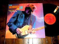 Dave Edmunds Band - Live I Hear You Rockin 1987 Promo LP Columbia Records EX+/EX