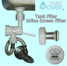 Toilet Filler InLine Filter Assembly Saves on Toilet Tank Component Repairs