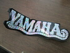 "Vintage NOS Yamaha Motorcycle Prism Reflective 2.75x8.25"" Sticker"