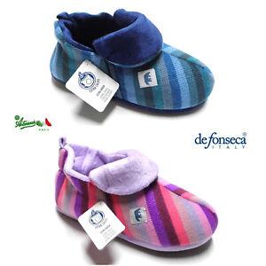 DEFONSECA ciabatte pantofole chiuse donna invernali calde TRENTO W402 Coldbear