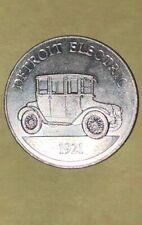 Sunoco DX Antique Car Coin Game Series 1 1968 Detroit Electric 1921 Token