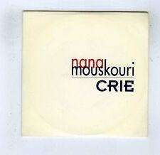 CD SINGLE PROMO NANA MOUSKOURI CRIE
