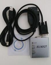 ELM327 Metal USB Cable RS232 Com Aluminum Shell PIC18F25K80 OBD2 Scanner V1.4