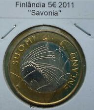 Finnland 5 Euro Sondermünze Jahr 2011 Savonia Provinzen Euromünze coin