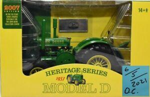 Ertl John Deere Heritage Edition 1/16 Model D MIB Excellent Box