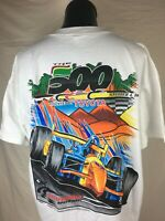 The 500 California Speedway Formula One Indycar Racing T-Shirt Men's XXL 11/4/01