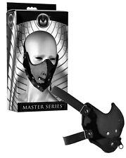 maschera sadomaso fetish nero per giochi erotici per uomo donna bondage black