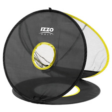 IZZO TRIPLE TRAGET GOLF PRACTICE CHIPPING NET / GOLF SHORT GAME PRACTICE AID