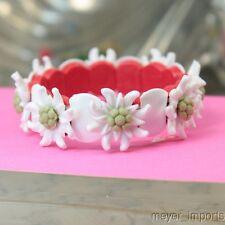 Edelweiss Austrian Flower Bracelet