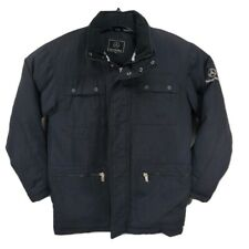 MERCEDES-BENZ Men's XS Embroidered Heavy Jacket Coat Drivers Line