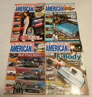 Classic American Car Magazine 2007 Complete Set Full Year Issue 189-200 Calendar