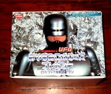 RARE VINTAGE OFFICIAL ROBOCOP NISSIN PROMO TOOTHBRUSH TOY SET JAPAN UFO FIGURE