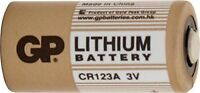 10x GP Lithium Battery 3V CR123A DL123, DL123A, EL123A, EL123AP, CR17345, CR123
