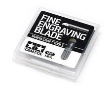 Tamiya Craft Tool FINE ENGRAVING BLADE 0.15mm Japan 74145
