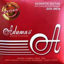 ADAMAS 1616 Akustik Gitarre Phosphor Bronze Saiten 12Saiter SATZ