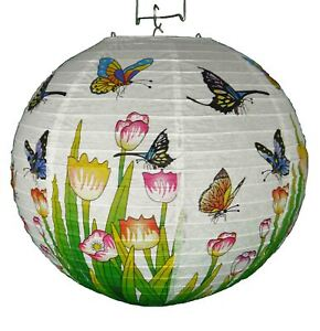 Traditional Chinese Oriental Paper Hanging Lantern - Butterfly Lamp Shade