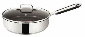 Jamie Oliver Everyday 25 cm Saute Frying Pan Stainless Steel Induction E7633314