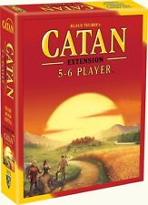 Catan - 5&6 Player Expansion - 2015 5th Edition - Strategy Boardgame