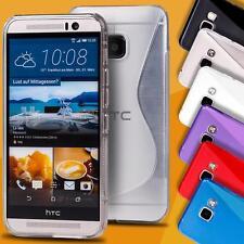 Funda de móvil para HTC modelos cover case protección bolsa slim de silicona TPU, bumper, protección