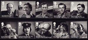 GB 2014 Remarkable Lives Stamps SG 3580-3588 MNH