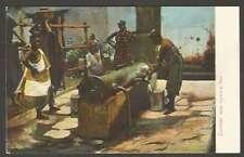 Zanzibar Tanzania Postcard Water Carriers At Tank Natives 1900