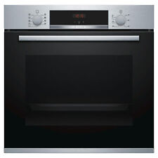 Bosch HBS534BS0B Built-In Electric Single Oven with 3D Hot Air Cooking