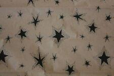 Primitive Black Star on Kraft Tissue Paper # 429 ~ 10 Large Sheets