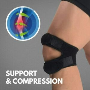Patella Knee Support Tendon Straps Running Sports Pain Neoprene Brace Arthritis