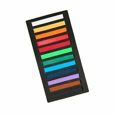 "Looneng Square Soft Chalk Pastels Stick, Brilliant Assorted Colors, 0.4"" X 2."