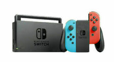 Nintendo Switch Console with Neon Blue/Neon Red Joy-Con Controllers, 2017