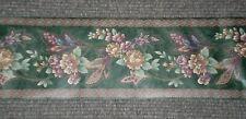*Bulk Listing* Dark Green Richly Colored Floral Border Gh70241B