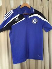 OFFICIAL CHELSEA FOOTBALL POLO SHIRT ADIDAS SAMSUNG SIZE 42/44 Large