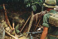 Vietnam War U.S. Marine Recon Find Underground Bunker Bien Hoa 8.5x11 Rare Photo